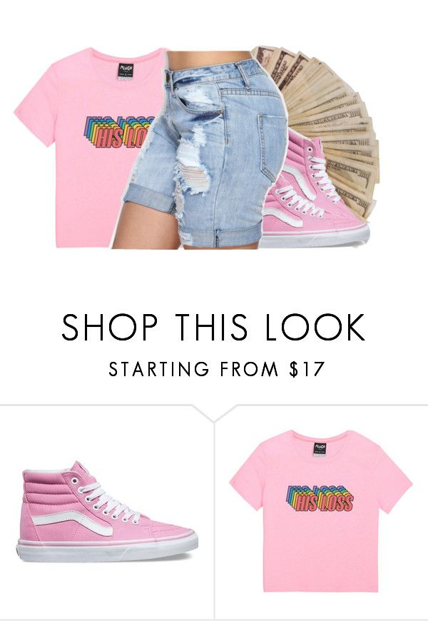 """""""Pink Style"""" by wottice19 on Polyvore featuring Vans"""