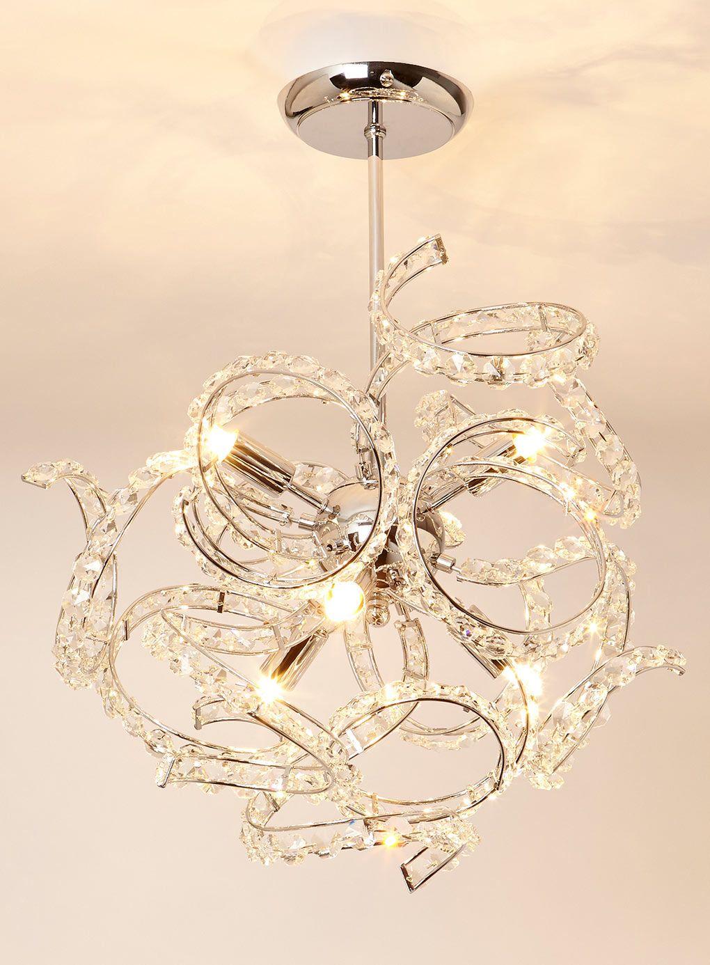 Eliza Flush Ceiling Light Bhs Lighting