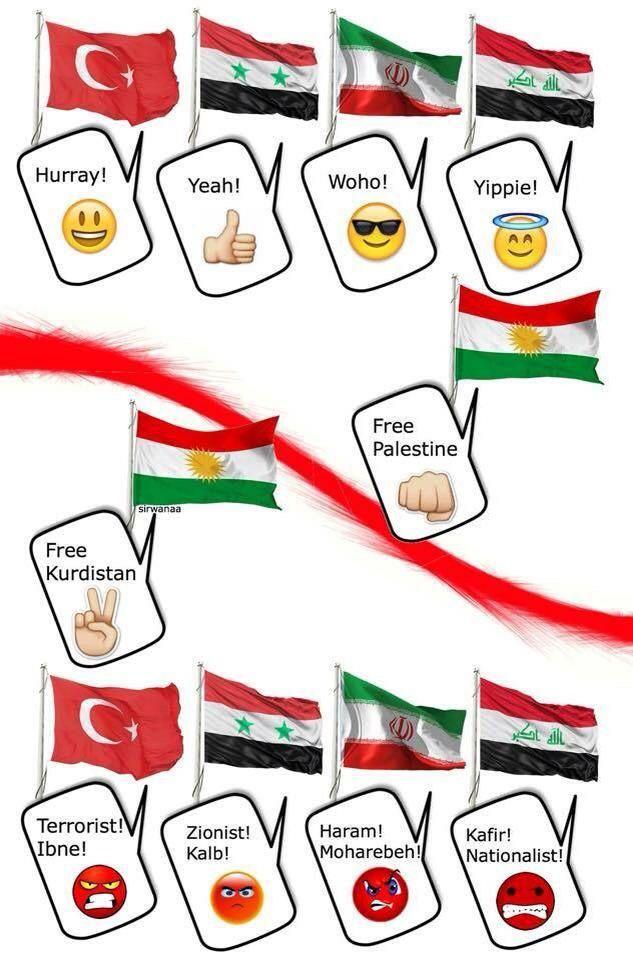 Hypocrisy over Kurdistan