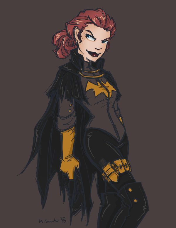 Batgirl Gaslight Babs By Msciuto On Deviantart Batgirl Comic Collection Super Hero Costumes