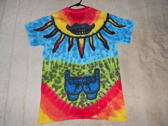 Handmade Tie Dyed T shirt Umphreys Mcgee by GratefullyDyedDamen, $65.00