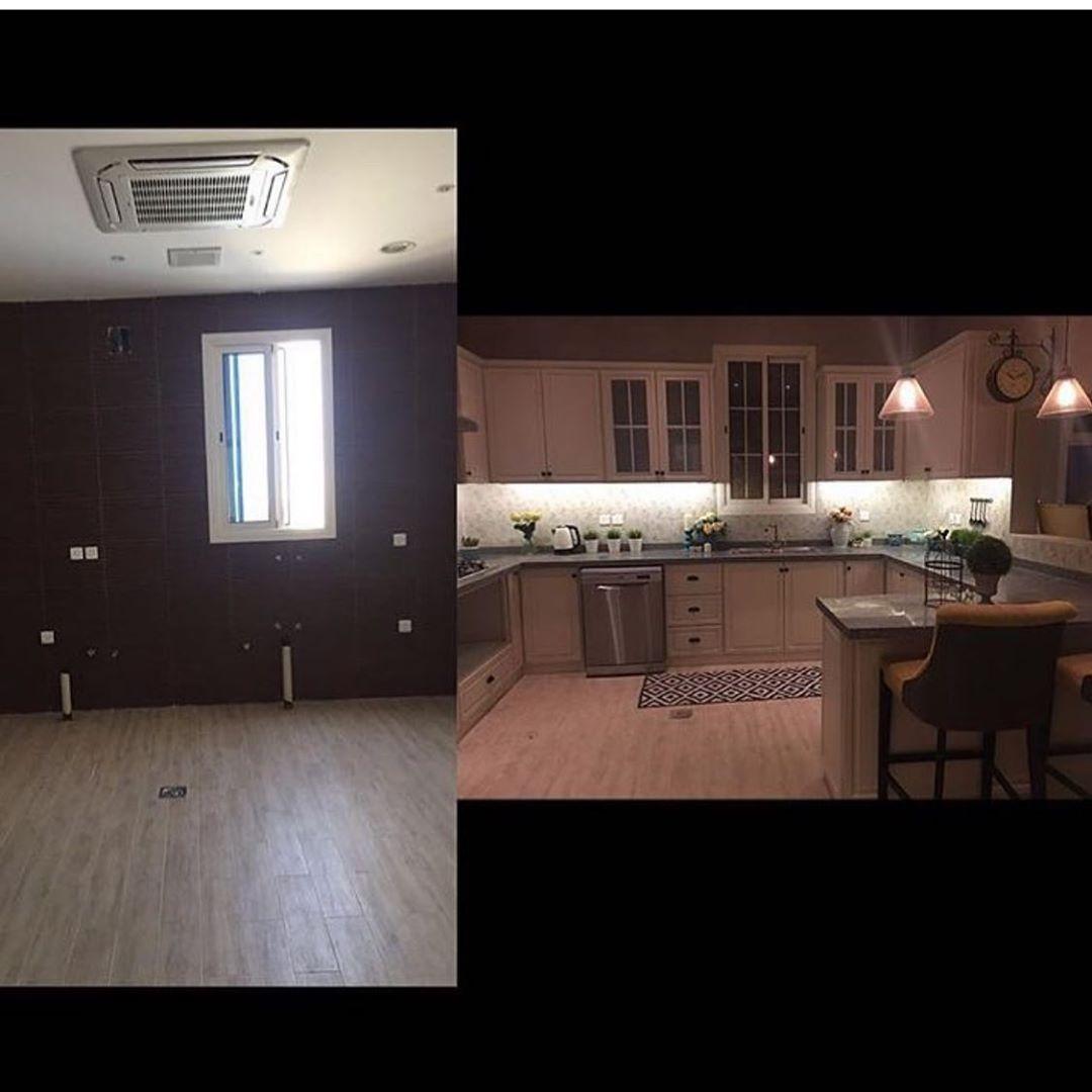 رايكم ديكور ستايل مطابخ مطبخ ترتيب تنسيق ديكورات بيت بيوت طاولات طاولة سنع تنظيف سنعات نظافة اثاث قبل بعد ستايل Decor Home Decor Home