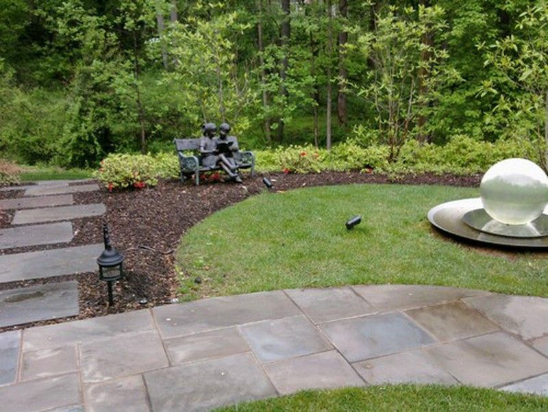 Traditional Build Stone Patio ~  Http://lovelybuilding.com/get To Know How To Build A Stone Patio/