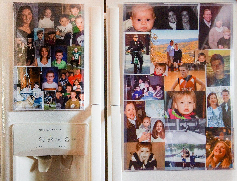 Amazoncom Fridgemag 16 X 24 Magnetic Collage Photo Frame Large