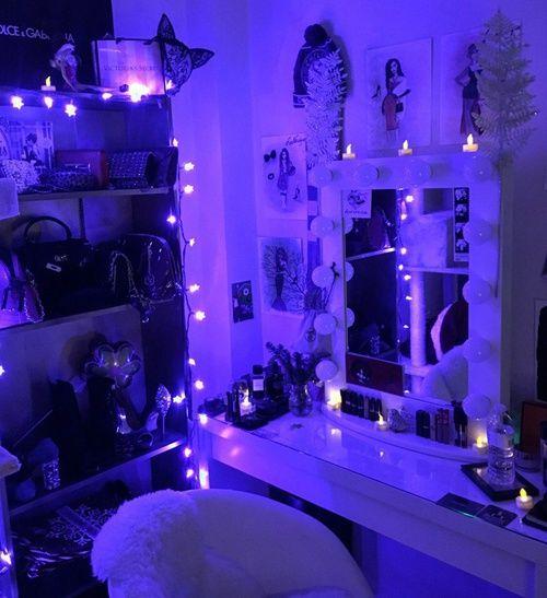 17 Best Ideas About Neon Bedroom On Pinterest: Pin By Н��𝖆𝖇𝖞𝕯𝖔𝖑𝖑 On æʂƭʜɛƭɪç