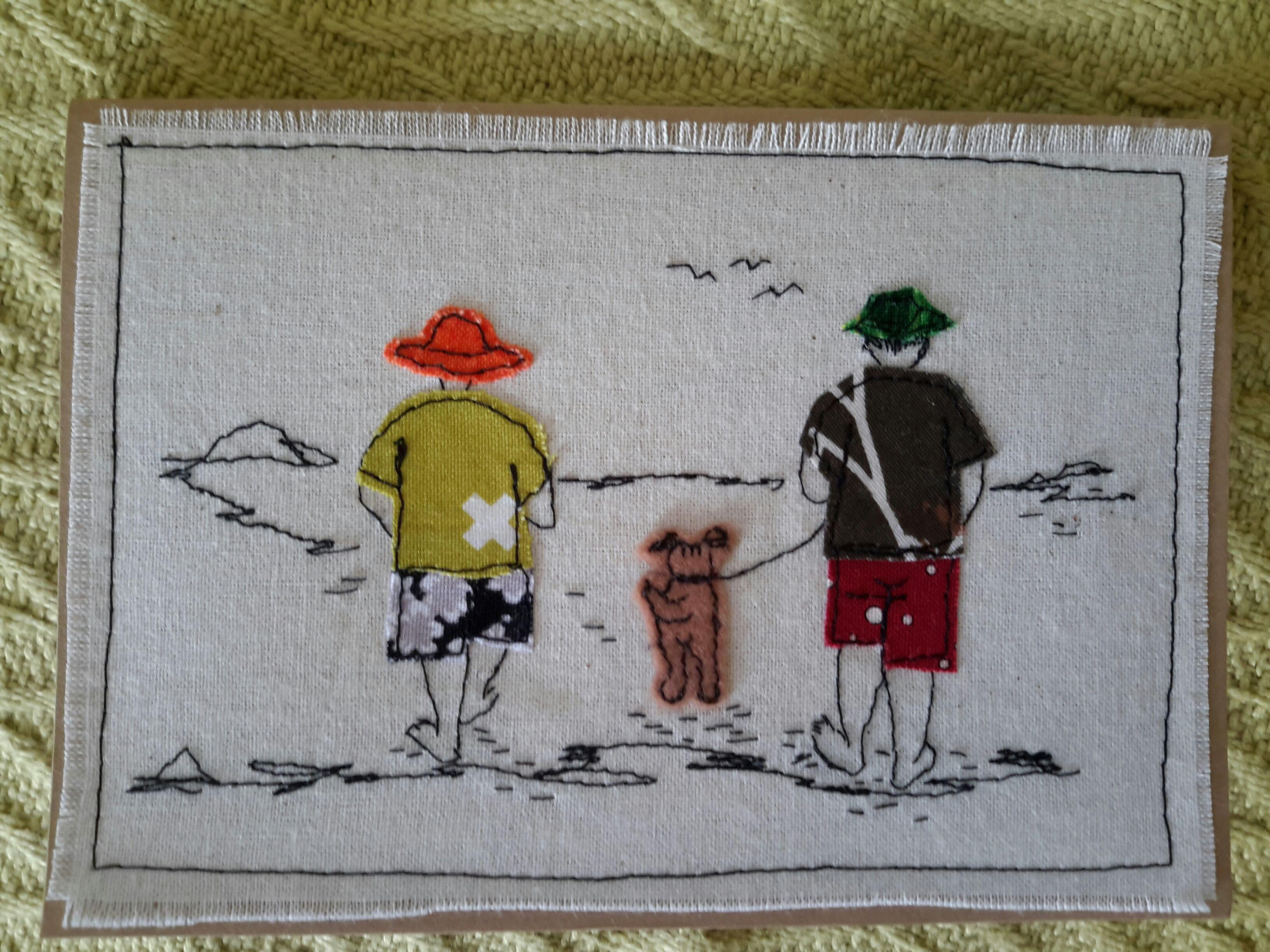 Pin by Krystyna Fikus on Postcard | Pinterest | Embroidery, Machine ...