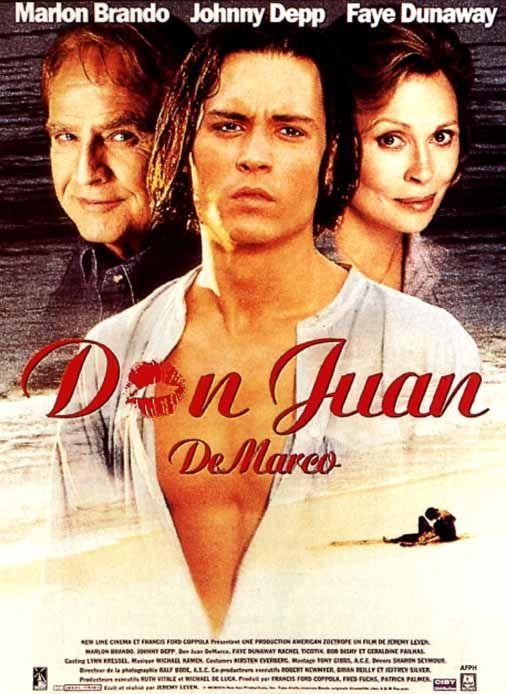 Don Juan De Marco   Movie Titles   Johnny depp movies