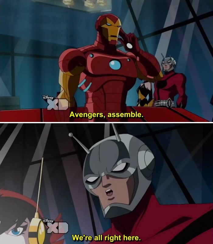 The Avengers Earth S Mightiest Heroes 2010 2012 Quotes Vol 2