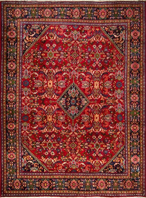 Persian Hand Knotted Carpets 8390c Lot 83 Lawsons Auctioneers Sydney