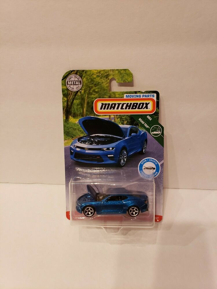 Matchbox 2019 Moving Parts 2016 Blue Chevy Camaro Case C Free Ship Htf Matchbox Bluemovingparts16camaro Chevy Camaro Matchbox Camaro