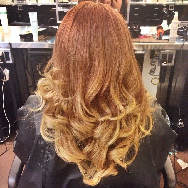 Sunskissed Balyage On Red Hair Google Search Hair