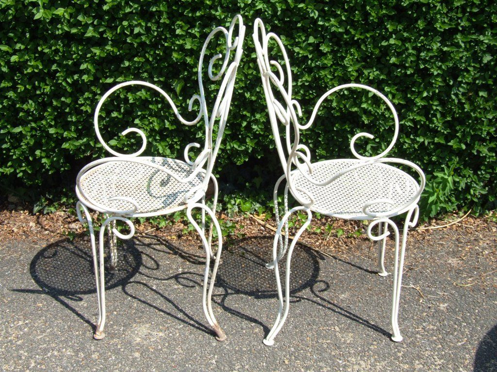 Vintage Wrought Iron Table And Chairs Stuhlede Com Vintage Patio Furniture Iron Patio Furniture Vintage Patio