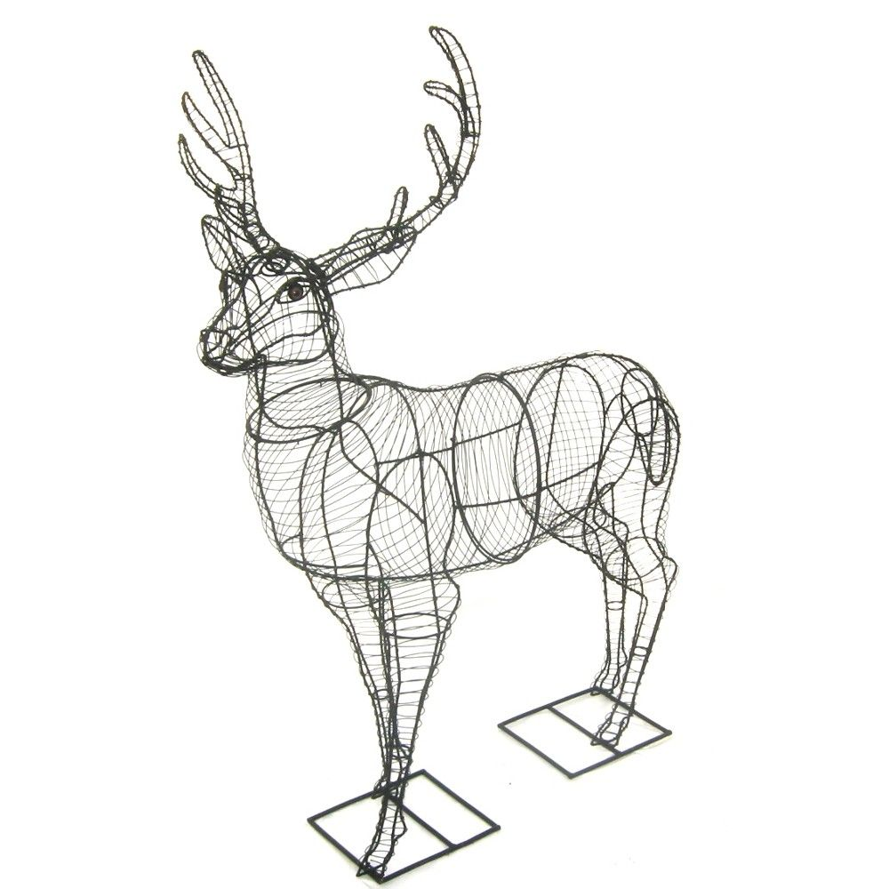 Deer (Stag) Large Topiary frame | Tomato Cages | Pinterest | Topiary ...