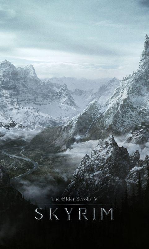 480x800 Wallpaper Skyrim World Rocks Winter Cold The Elder Scrolls V Skyrim Elder Scrolls V Skyrim Skyrim Wallpaper Skyrim
