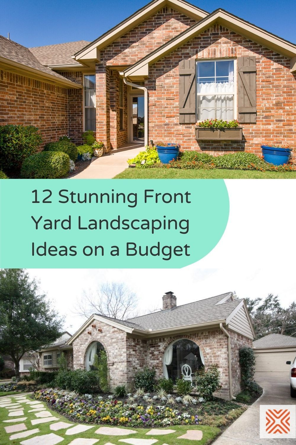 Taking care of your front yard is always a good thing. Not only does it increase the curb appeal of your home, but it also adds value to your property. Renovate your front yard with these 12 stunning front yard landscaping ideas on a budget.