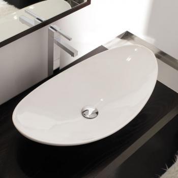 Scarabeo Waschbecken scarabeo zefiro aufsatzwaschtisch weiß waschbecken