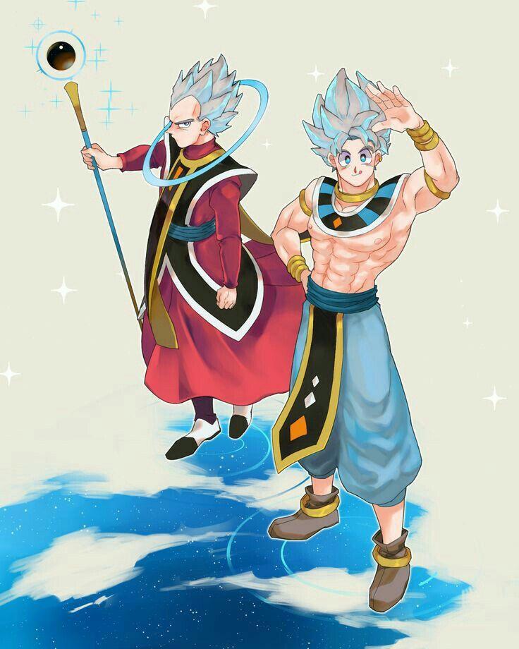 Vegeta y goku dios destructor y ngel maestro  El clan de Naruto