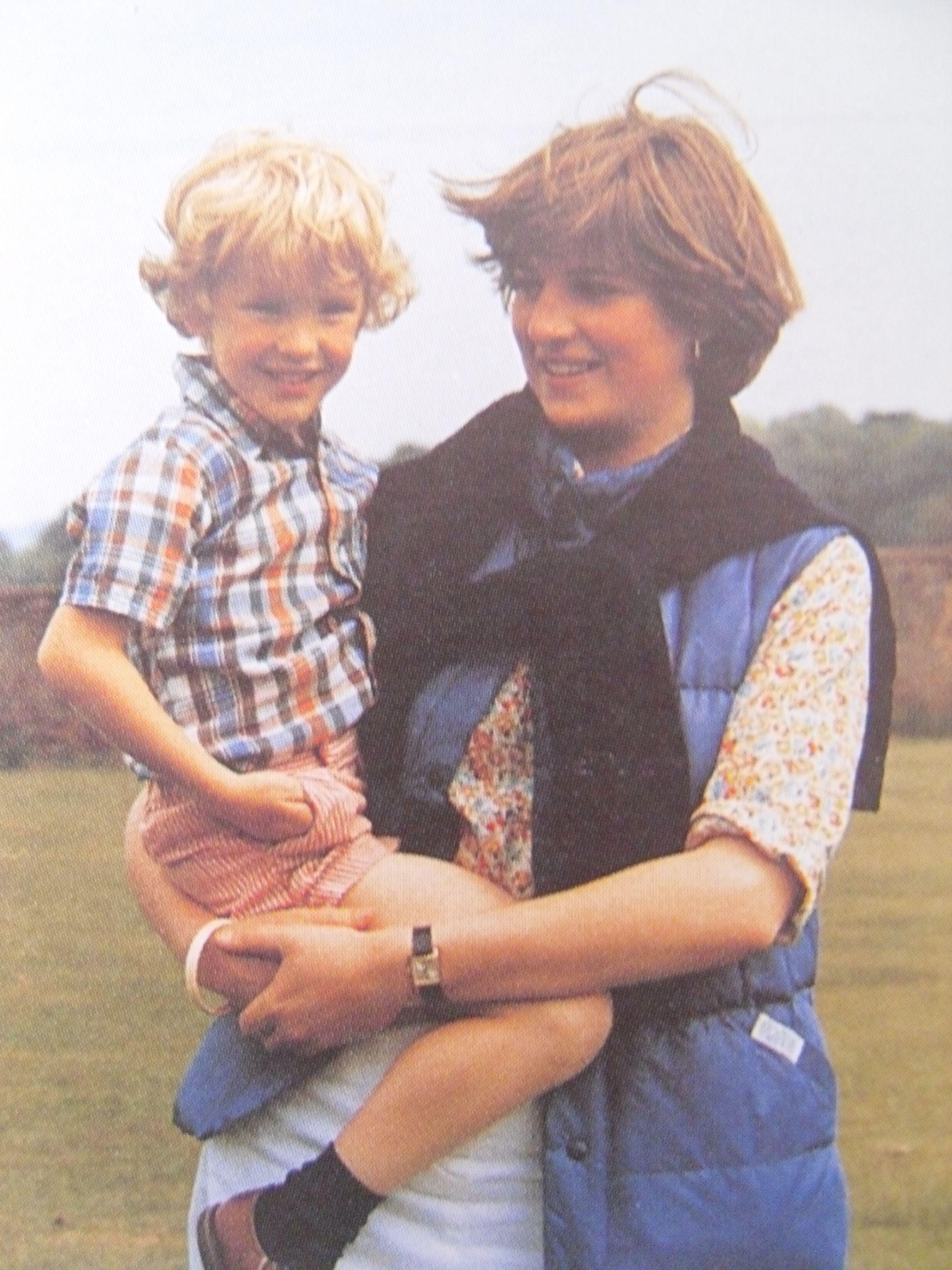 1980 Althorp Cricket match. Lady Diana Spencer and Jamie polk
