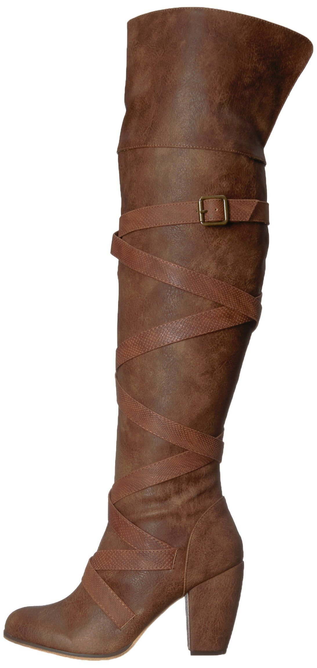 b6a14ae7fc55 Michael Antonio Womens Moonby Western Boot Cognac 8 M US     Details can be