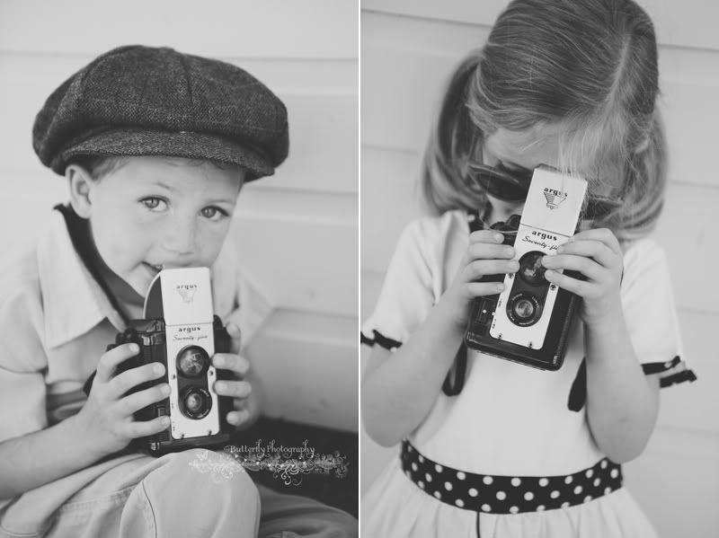 Atelliê Fotografia | Kimberly Chorney e suas inspiradoras fotografias de crianças usando câmeras vintage. Inspira-te!