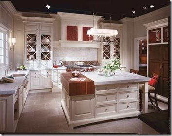 Christopher Pea S Signature Collection Chicago Showroom Check Out The Partial Butcher Block Countertop