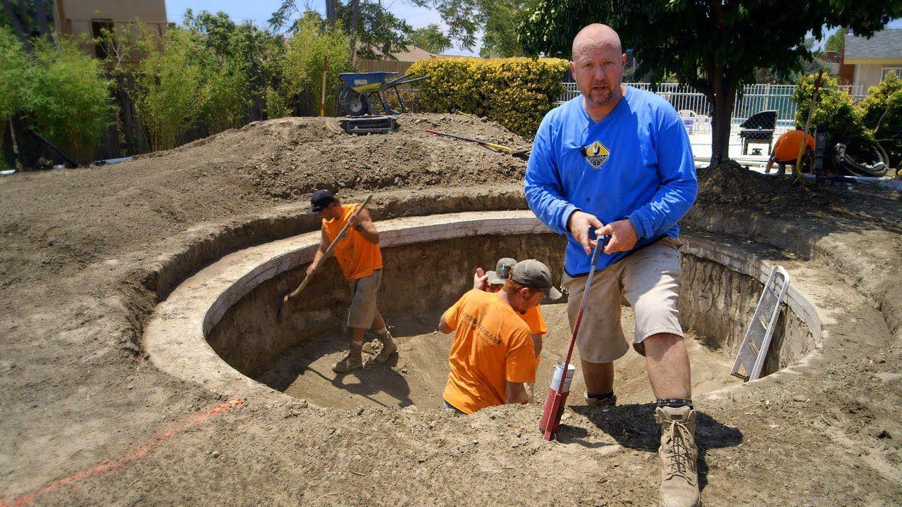 Diy koi pond construction layout pond design