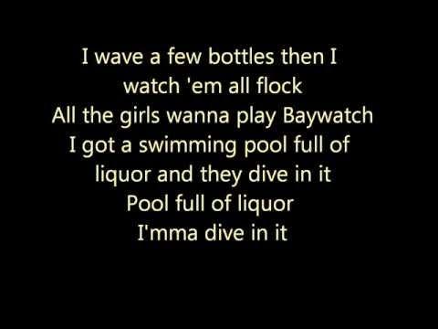 Swimming Pools Kendrick Lamar Lyrics Video Kendrick Lamar Lyrics Lyrics Kendrick Lamar