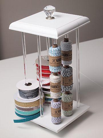 The Ribbon Carousel Fun Organization Washi Tape Storage Craft