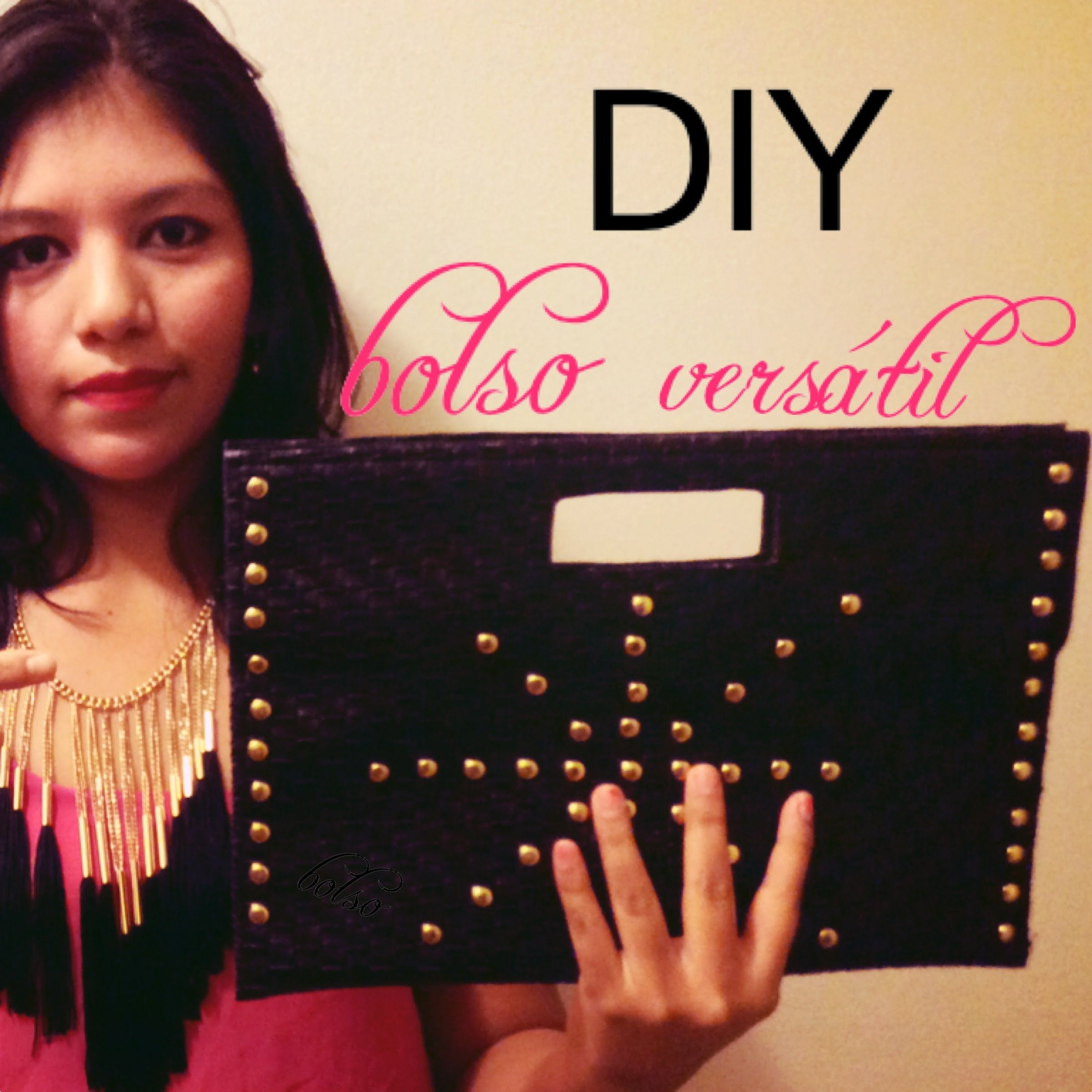DIY !!Crea tu bolso de fiesta o clutchs con manteles individuales!!