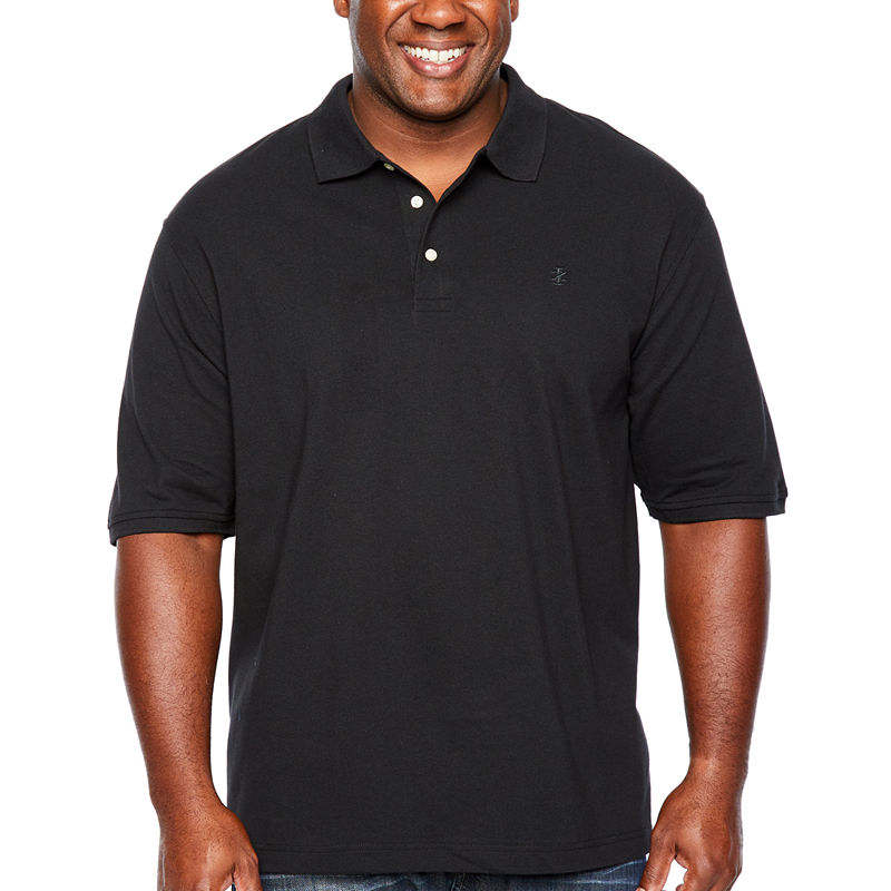 1d4b871ae IZOD Mens Short Sleeve Polo Shirt Big and Tall   Products in 2019 ...