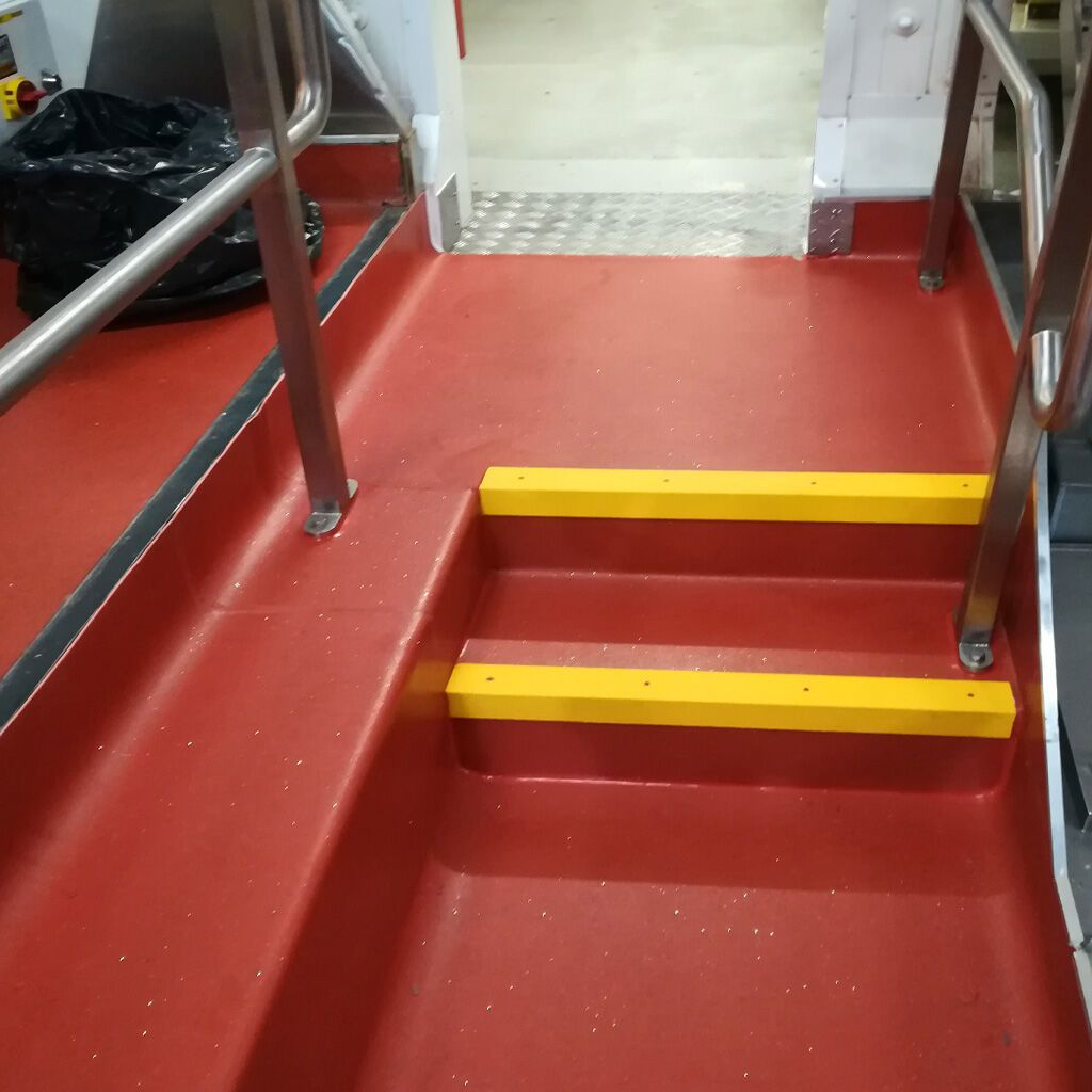 Antislip Stair Nosing ensure safety and visibility at a