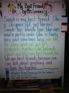 example of descriptive essay about friendship