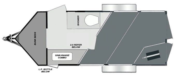 Dixie Star Bumper Pull Living Quarters Horse Trailers Riding