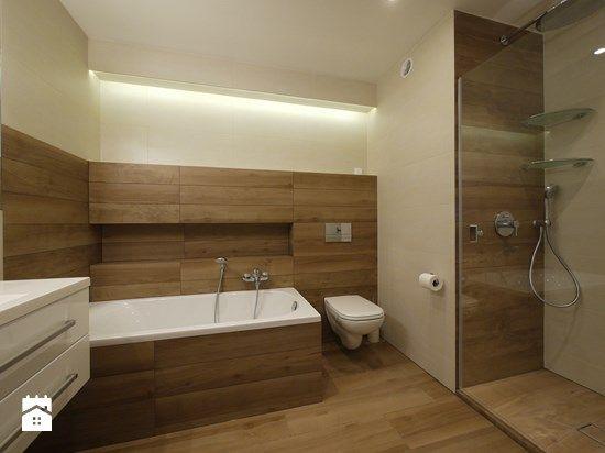 płytki drewnopodobne łazienka  Szukaj w Google  Pomysły