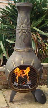 Attractive Buy The Soleil Castmaster TM Cast Iron Chiminea Online From The Largest  Range Of Cast Iron Chimineas In The UK.