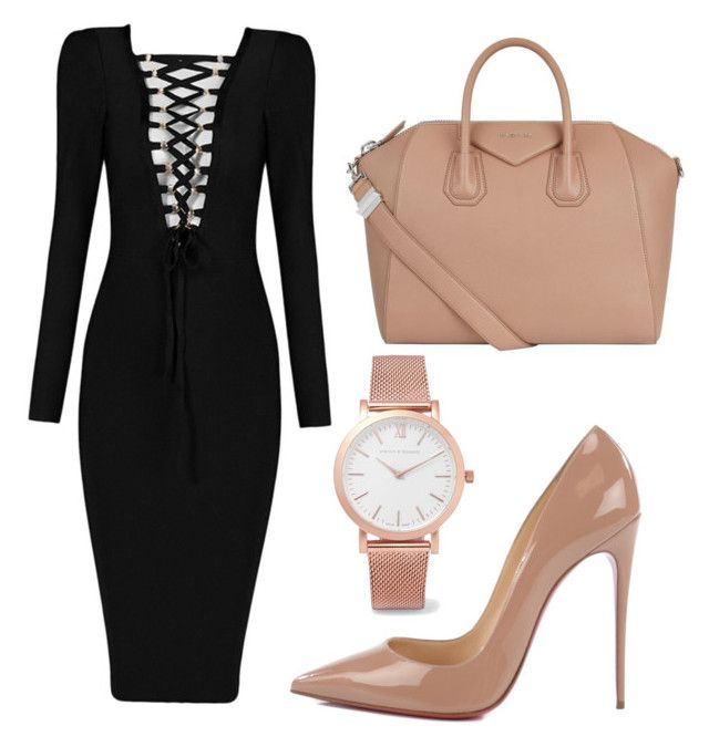 """""""Set2"""" by comidina ❤ liked on Polyvore featuring Christian Louboutin, Givenchy and Larsson & Jennings"""