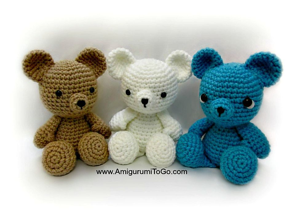 Elegant Free Crochet Teddy Bear Pattern | Teddy bear pattern ... | 720x960