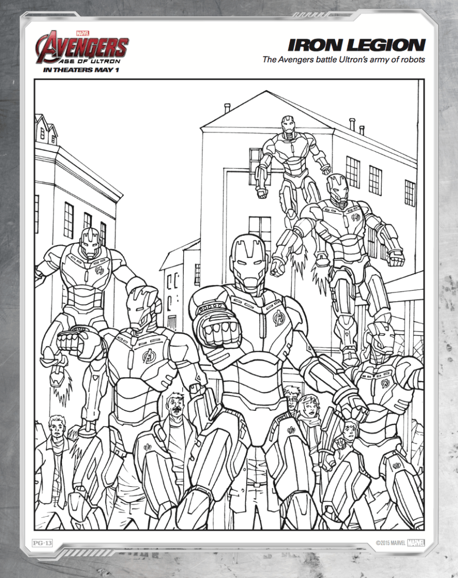 All Avengers Coloring Pages