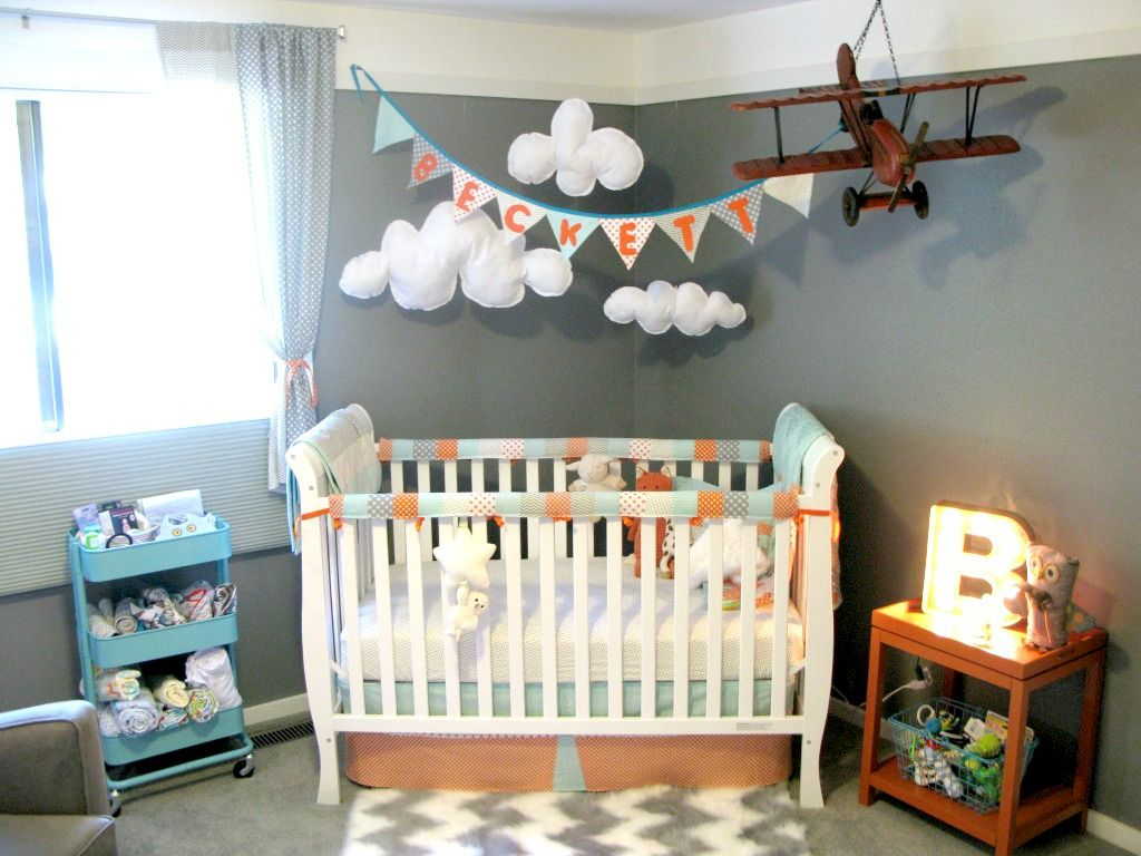 55 Airplane Baby Room Master Bedroom
