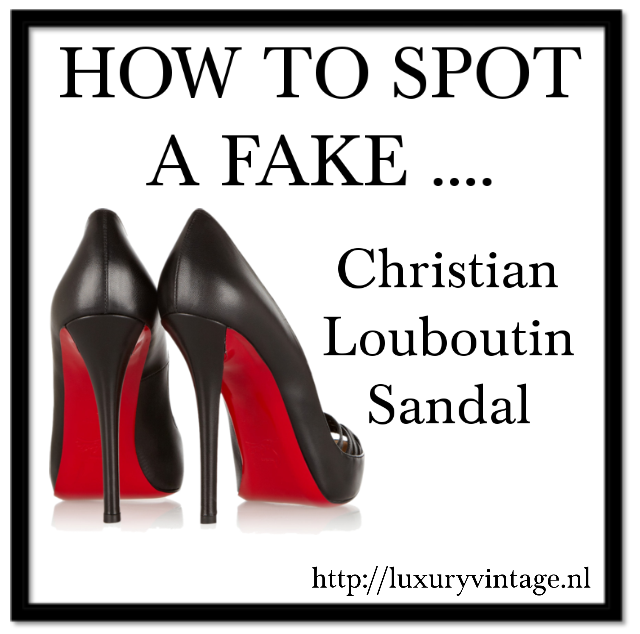 how to detect fake christian louboutins