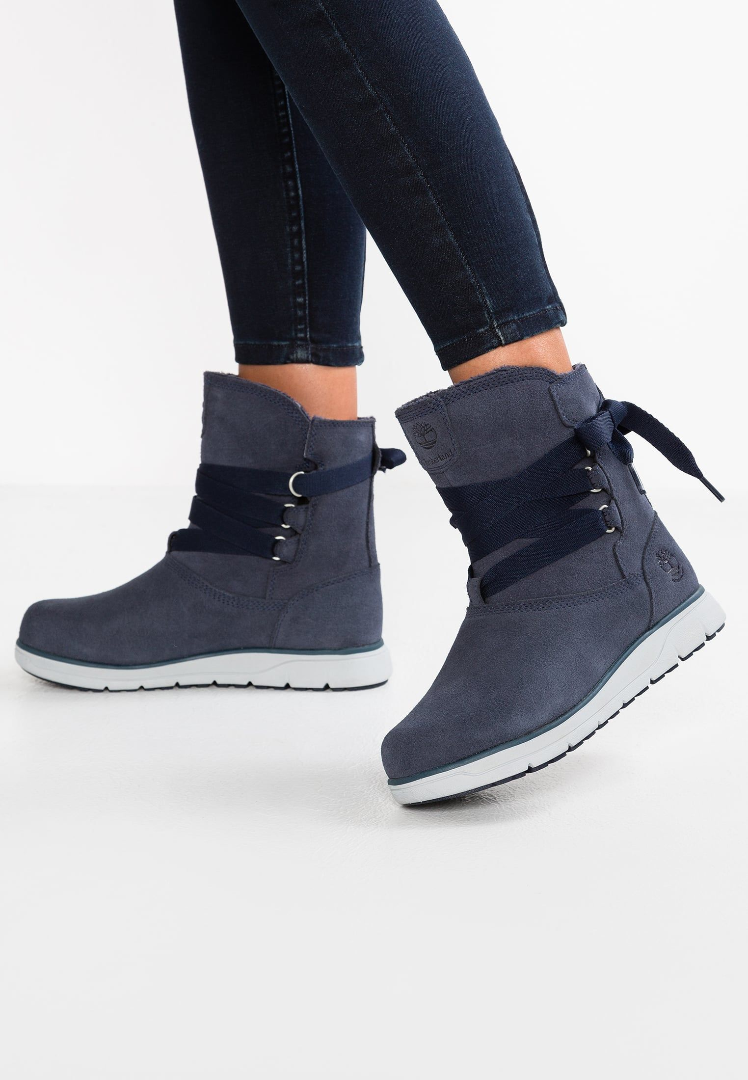 Timberland LEIGHLAND PULL ON Botines con cordones dark