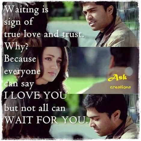 Best Love Quotes From Tamil Movies Quotes On Love Pinterest