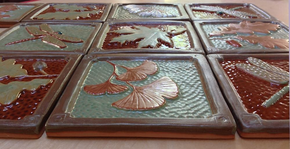 Fay jones day tile with images contemporary tile arts
