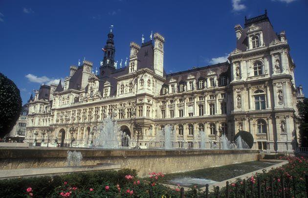 Image Result For Hotel De Ville Normandy Paris Tourist Paris City