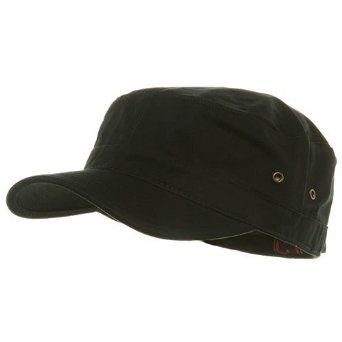 24c23a18503 Trendy Military Fitted Cap- Black W32S36D  13.99