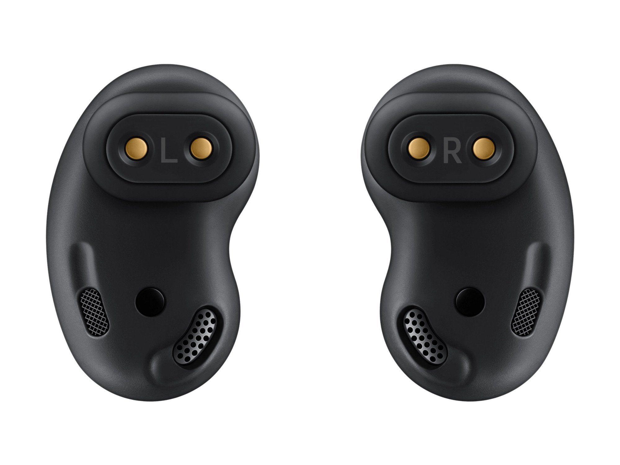 Samsung Galaxy Buds Live True Wireless Earbuds Headset Mystic Black In 2021 Bluetooth Wireless Earphones Samsung Galaxy Wireless Earbuds