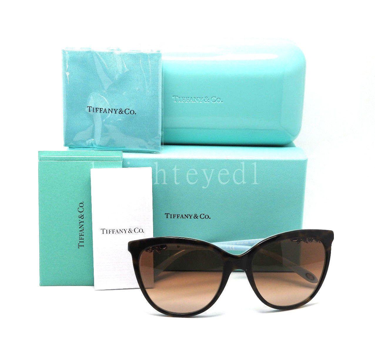 5a54b1ac4e Authentic TIFFANY   CO. Victoria Cat Eye Sunglasses TF 4131HB - 81343B   NEW  4