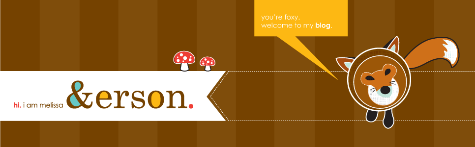 my new blog header. you're foxy.