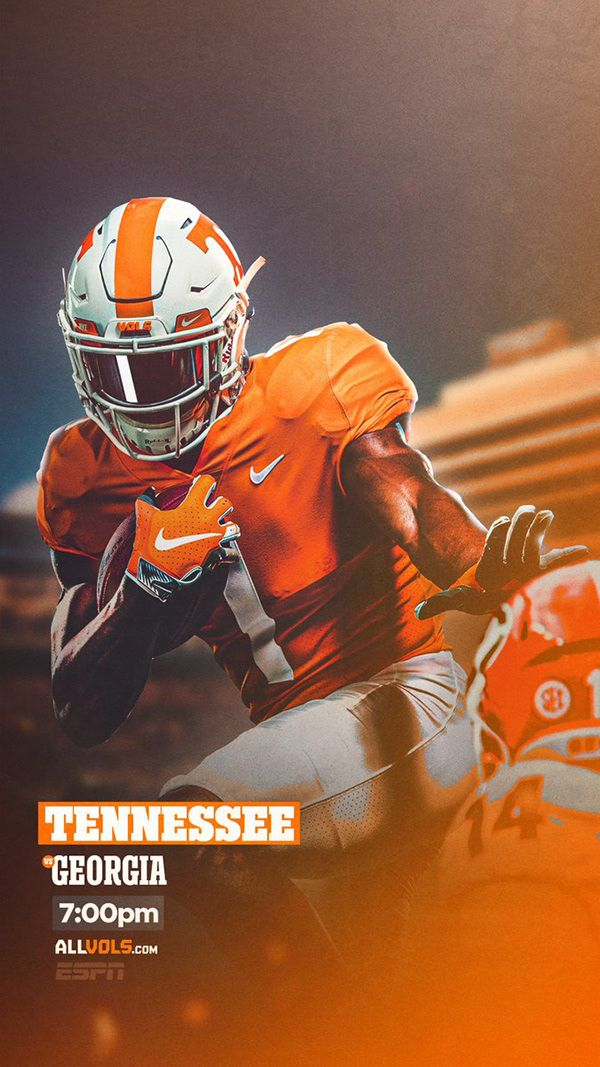 Tennessee Football 2019 On Behance In 2020 Tennessee Football Football Design Football