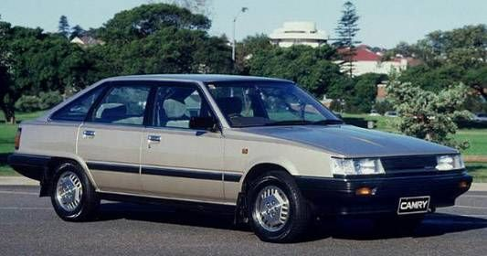 1985 Camry Hatchback Toyota Camry Toyota Camry